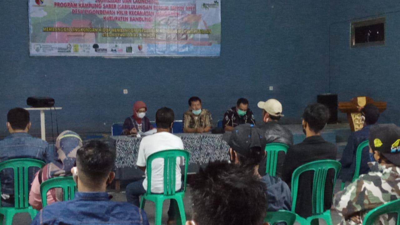 Sosialisasi dan Launching Kampung Saber